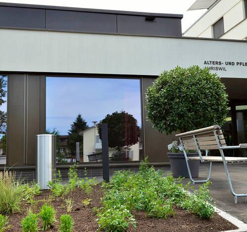 Alters- und Pflegezentrum Amriswil: Interior Design Pius Schäfler AG