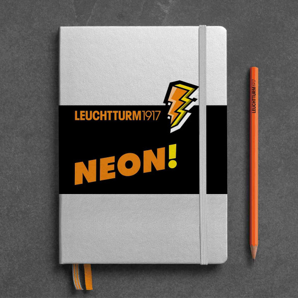 Notizbuch A5 neon orange