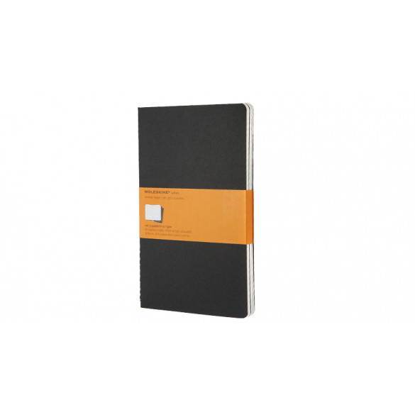 Moleskine Cahier Large A5 Softcover 3er Set