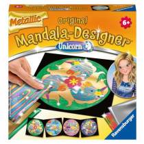 Metallic Mandala-Designer Unicorn