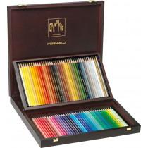 Farbstifte Prismalo 80er Set mit Holzkoffer