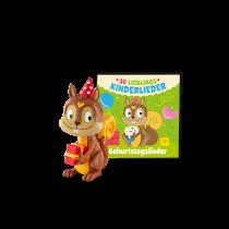Hörbuch Geburtstagslieder - 30 Lieblings-Kinderlieder Figur & Booklet