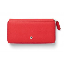 Graf von Faber-Castell Geldbörse Damen Epsom India Red