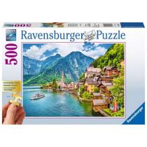 Puzzle Hallstatt in Österreich