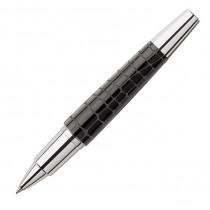 Faber-Castell Tintenroller E-Motion Edelharz Kroko, schwarz