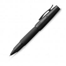 Faber-Castell Tintenroller e-motion pure Black, schwarz