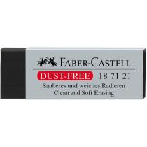 Radiergummi Kunststoff Dust-free schwarz