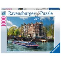 Puzzle Grachtenfahrt Amsterdam