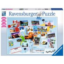 Puzzle Reise um die Welt