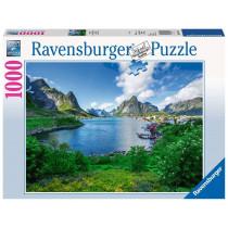 Puzzle Auf den Lofoten