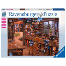 Puzzle Opas Schuppen