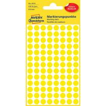 Avery Zweckform Markierungspunkt gelb 8 mm