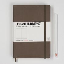 Leuchtturm1917 Notizbuch Medium (DIN A5) punktkariert, taupe