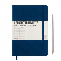Leuchtturm1917 Notizbuch Medium Hardcover A5 marine, liniert