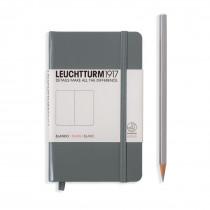 Leuchtturm1917 Notizbuch Pocket Hardcover A6 anthrazit, blanko