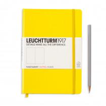 Leuchtturm1917 Notizbuch Medium (DIN A5) zitrone, gepunktet