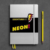 Notizbuch A5 neon gelb
