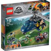 LEGO® Jurassic World™ Blue`s Hubschrauber-Verfolgungsjagd