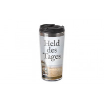 """Thermobecher to go """"Held des Tages"""" 450 ml"""