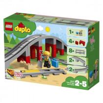 LEGO® DUPLO® Town Eisenbahnbrücke und Schienen