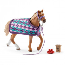 Horse Club Englisches Vollblut mit Decke