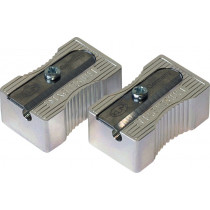 Einfachspitzer Metall Block