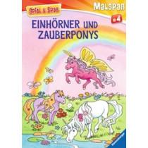 Malbuch Einhörner und Zauberponys