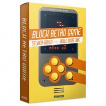 Block Retro Game Verpackung