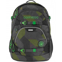 Schulrucksack Scalerale Polygon Bricks Grey