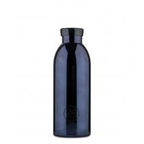 Trinkflasche schwarzer Glanz