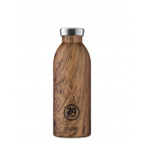 Trinkflasche Mammutbaum Holz