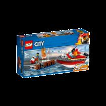 LEGO® City Fire Feuerwehr am Hafen