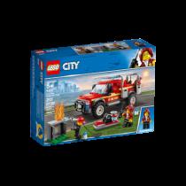 LEGO® City Town Feuerwehr-Einsatzleitung