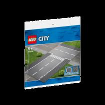 LEGO® City Supplementary Gerade und T-Kreuzung
