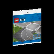 LEGO® City Supplementary Kurve und Kreuzung