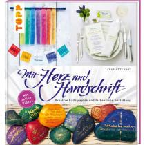 TOPP Mit Herz und Handschrift: Kreative Kalligraphie und farbenfrohe Gestaltung