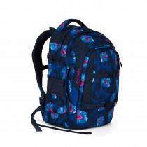 satch Schulrucksack pack Waikiki Blue vorne links