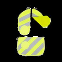 ergobag cubo Sicherheitsset mit Reflektierstreifen Gelb