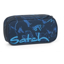 satch Stiftebox Blue Compass