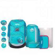 ergobag pack Schulrucksack Set 6tlg. Hula HoopBär
