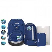 ergobag pack Schulrucksack Set 6tlg. BlaulichtBär