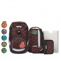 ergobag pack Schulrucksack Set 6tlg. SupBärheld
