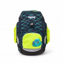 ergobag Sicherheitsset mit Seitentaschen Zip-Set gelb