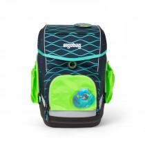ergobag Sicherheitsset mit Seitentaschen Zip-Set grün