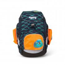 ergobag Sicherheitsset mit Seitentaschen Zip-Set orange