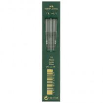 Faber-Castell Fallmine TK® 9071, 2 mm, 3B, schwarz, 10 St./Pack.