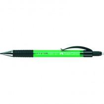 Faber-Castell Druckbleistift GRIP MATIC 1377, 0,7 mm, B, grün, mit: Radierer