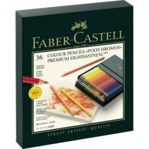 Faber-Castell Farbstifte Polychromos 36Stk./Pack. Atelierbox