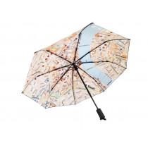 Regenschirm Rainmap Basel