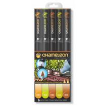 Chameleon Pen Erdfarben 5er-Set